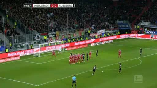 Ingolstadt Augsburg goals and highlights