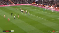 Kevin Wimmer scores own goal in the match Arsenal vs Tottenham