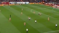 Harry Kane scores in the match Arsenal vs Tottenham
