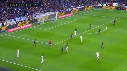 Real Madrid Deportivo La Coruna goals and highlights