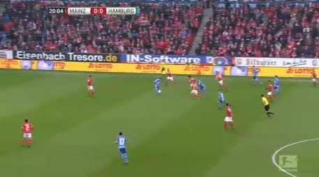 Mainz Hamburger goals and highlights