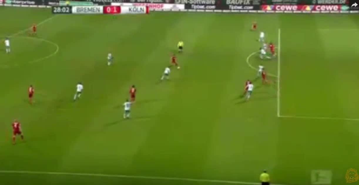 Werder Bremen Köln goals and highlights