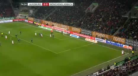 Augsburg Borussia Moenchengladbach goals and highlights