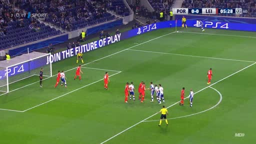 FC Porto Leicester goals and highlights