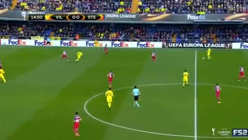 Villarreal Steaua Bucharest goals and highlights
