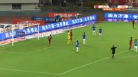 Lei Wu scores in the match Shanghai SIPG vs Henan Jianye