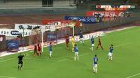 Wenjun Lu scores in the match Shanghai SIPG vs Henan Jianye