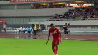 Jean Evrard Kouassi scores in the match Shanghai SIPG vs Henan Jianye