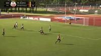 Andrejs Kovalovs scores in the match Jelgava vs Metta/LU