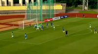 Giorgio Russo scores in the match FK Kauno Zalgiris vs FC Stumbras