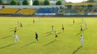 Tomas Bucma scores in the match Atlantas vs FK Kauno Zalgiris