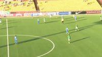 Andrija Kaludjerovic scores in the match Zalgiris vs Jonava
