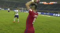 Emanuel Gigliotti scores in the match Tianjin Teda vs Chongqing Lifan