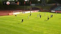 Kriss Karklins scores in the match FK Liepaja vs BFC Daugavpils