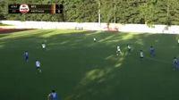 Aleksejs Visnakovs scores in the match FK Rigas Futbola Skola vs Metta/LU