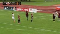 Marks Kurtiss scores in the match Jelgava vs FK Liepaja