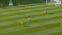 Heung-Min Son scores in the match Middlesbrough vs Tottenham