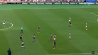 Dusan Tadic scores in the match West Ham vs Southampton