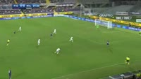 Josip Ilicic misses penalty in the match Fiorentina vs AC Milan