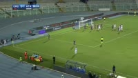 Jasmin Kurtic scores in the match Crotone vs Atalanta