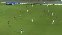 Alejandro Gomez scores in the match Crotone vs Atalanta