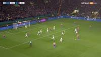 Fernando Luiz Rosa scores in the match Celtic vs Manchester City
