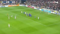Ricardo Quaresma scores in the match Besiktas vs Dynamo Kiev
