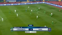 Blaise Matuidi scores in the match Ludogorets vs Paris SG