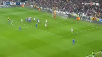 Viktor Tsygankov scores in the match Besiktas vs Dynamo Kiev