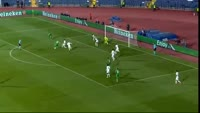 Cosmin Moti misses penalty in the match Ludogorets vs Paris SG