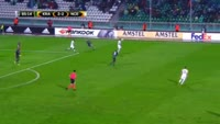 Ariclenes da Silva Ferreira scores in the match Krasnodar vs Nice