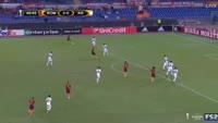 Fabricio Fabricio scores own goal in the match AS Roma vs FC Astra