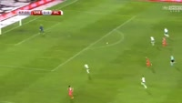 Dusan Tadic scores in the match Serbia vs Ireland