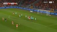 Breel Embolo scores in the match Switzerland vs Portugal