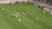 Romelu Lukaku scores in the match Cyprus vs Belgium