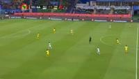 Riyad Mahrez scores in the match Algeria vs Zimbabwe