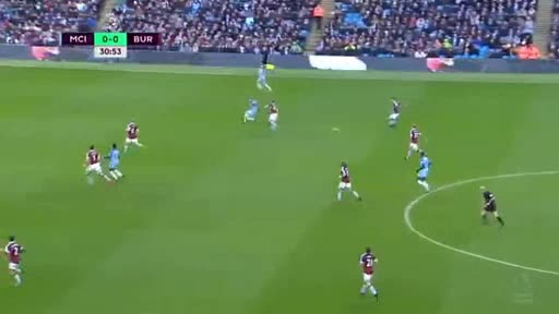 Manchester City Burnley goals and highlights