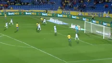 Las Palmas Deportivo La Coruna goals and highlights