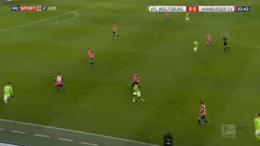 Wolfsburg Hamburger goals and highlights