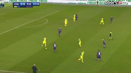 Chievo Fiorentina goals and highlights