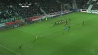 Bas Dost scores in the match Maritimo vs Sporting Lisbon