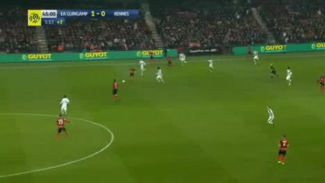 Guingamp Rennes Goals And Highlights