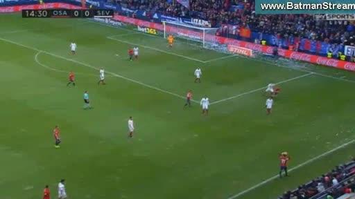 Osasuna Sevilla goals and highlights