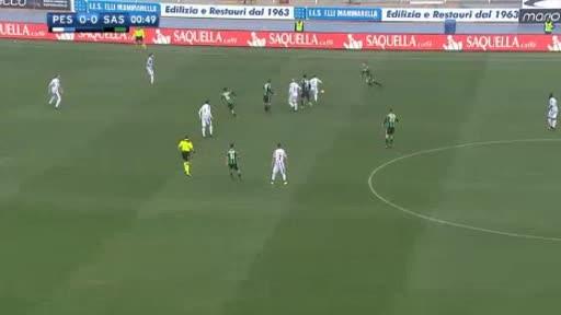 Pescara Sassuolo goals and highlights