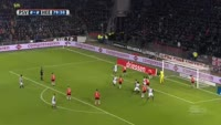 Reza Ghoochannejhad scores in the match PSV vs Heerenveen