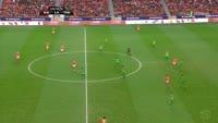 Rafa Silva scores in the match Benfica vs Tondela