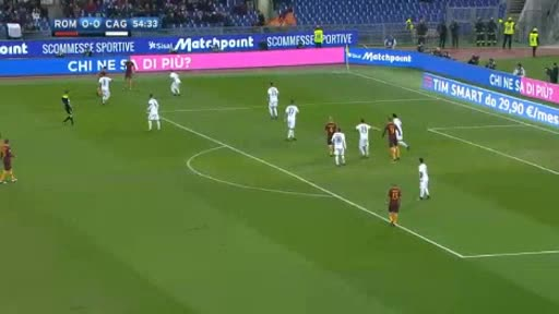 AS Roma Cagliari goals and highlights