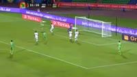 Islam Slimani scores in the match Senegal vs Algeria