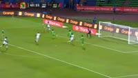 Pape Diop scores in the match Senegal vs Algeria