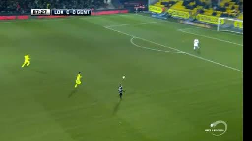 Lokeren Gent goals and highlights